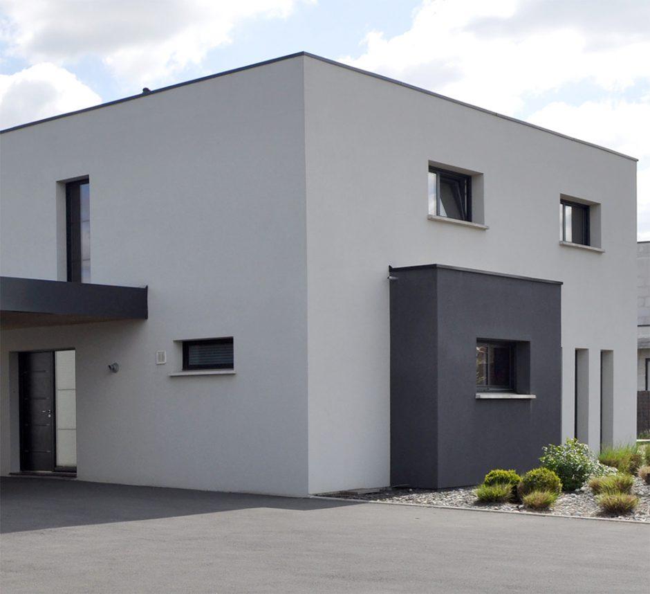 Du style maisons d 39 en france nord for Style maison contemporaine