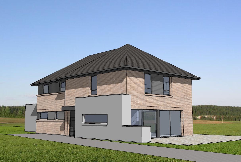 Maison moderne maisons d 39 en france nord for Les maisons en france