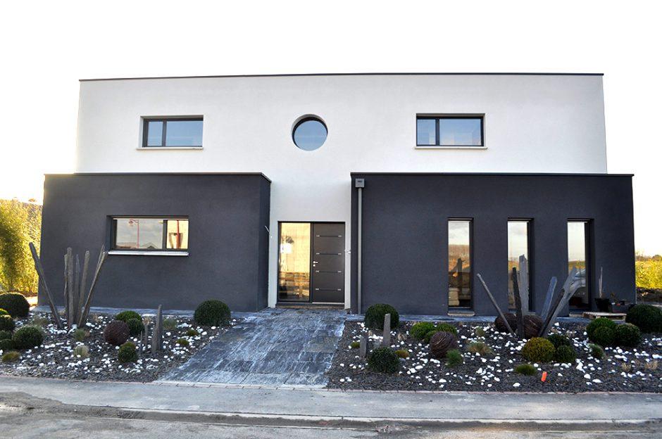 Maison moderne   Maisons d\'en France Nord