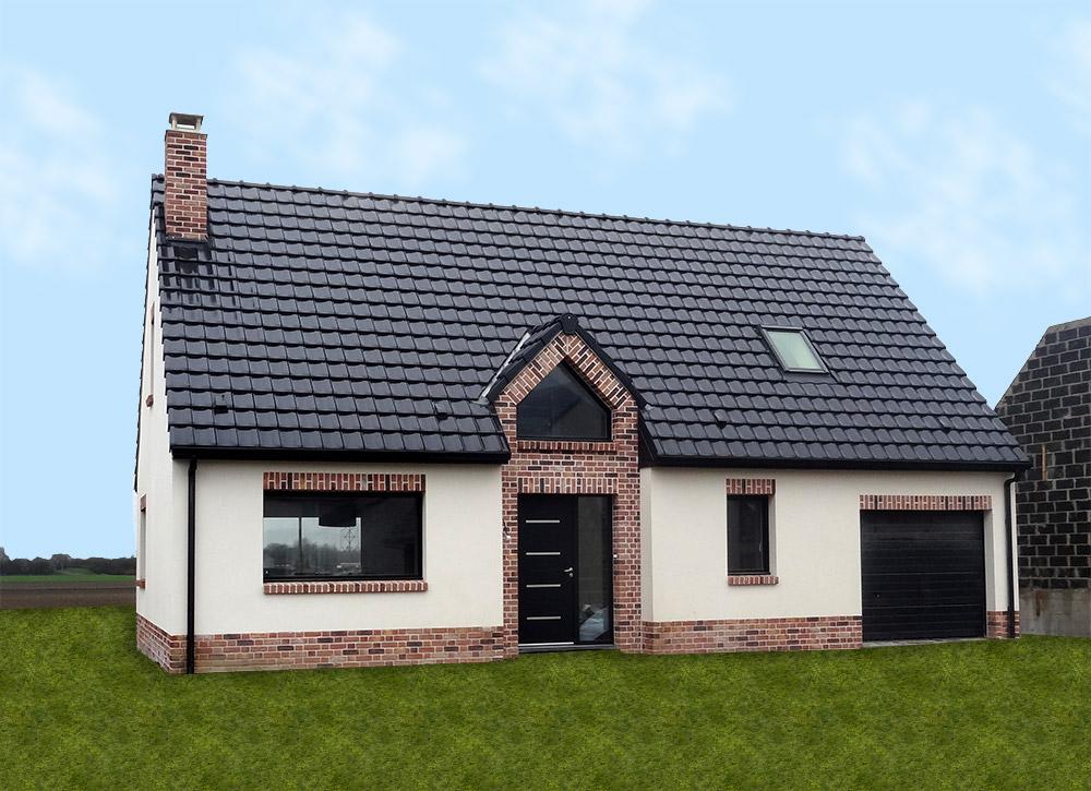 Maison intemporelle maisons d 39 en france nord for Paiement construction maison