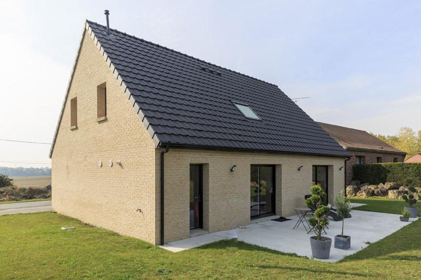 La tentation du contemporain maisons d 39 en france nord for Paiement construction maison