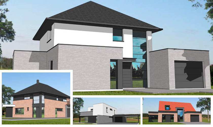 maisons d 39 en france nord constructeur de maison individuelle. Black Bedroom Furniture Sets. Home Design Ideas