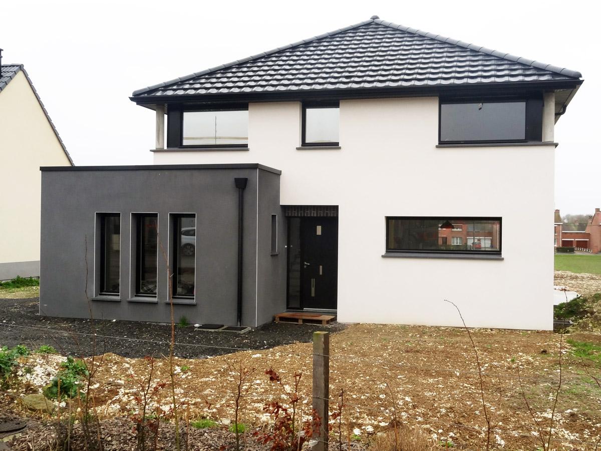 Maison moderne maisons d 39 en france nord for Style maison contemporaine